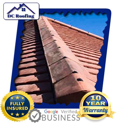DC Roofing Dry Ridge Roofing Installed in Milton Keynes