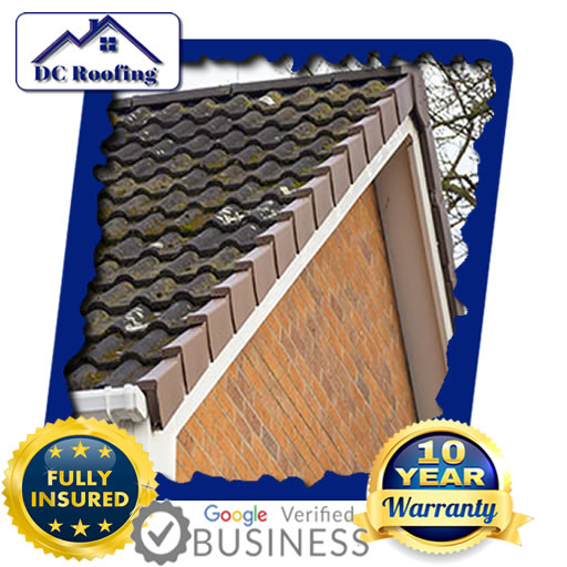 DC Roofing Dry Verge Roofing Installed in Milton Keynes