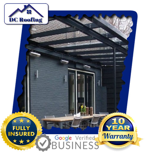 DC Roofing Glass Roofing Fixed in Milton Keynes