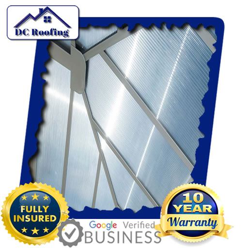 DC Roofing Polycarbonate Roofing Fixed in Milton Keynes