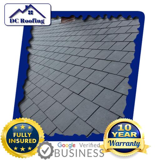 DC Roofing Slate Roofing Installed in Milton Keynes